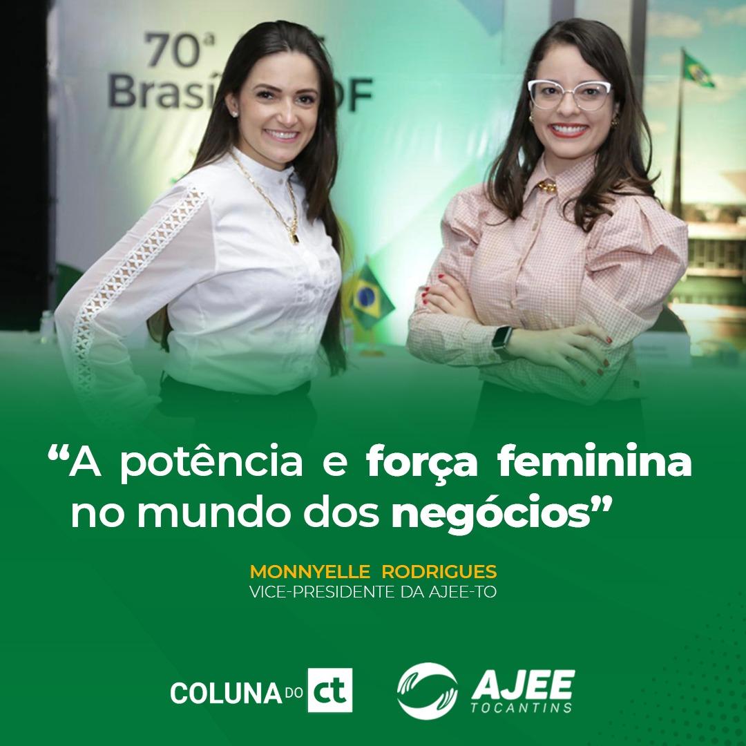 Espaço AJEE na Coluna do Cleber Toledo - A potência e força feminina no mundo dos negócios