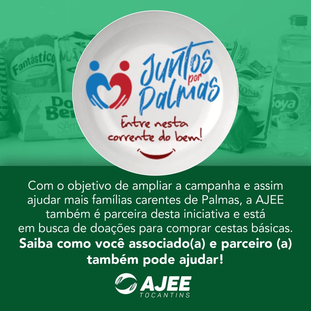 AJEE apoia o projeto Juntos por Palmas